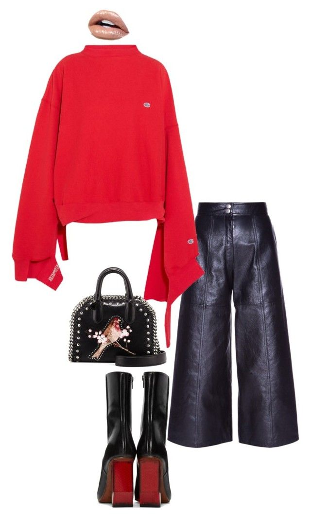 """""""Untitled #231"""" by ms-ashmarie on Polyvore featuring Yves Saint Laurent, Vetements and STELLA McCARTNEY"""