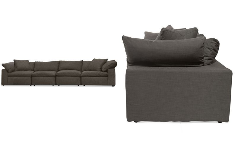 Rainne 4 Pc Modular Sofa Couches Sofas Furniture Macy S