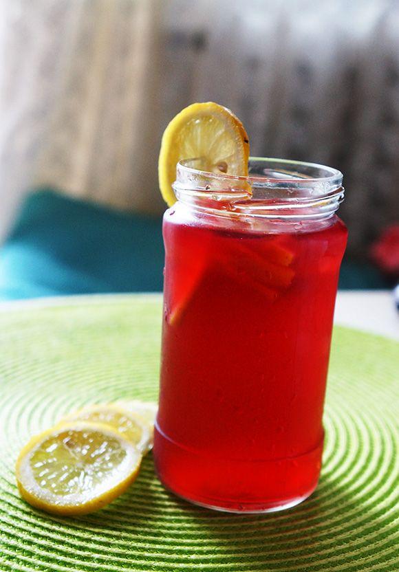 Strawberry lemon Ice Tea