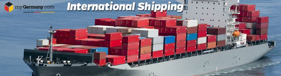 Cheap international shipping from germany to worldwide
