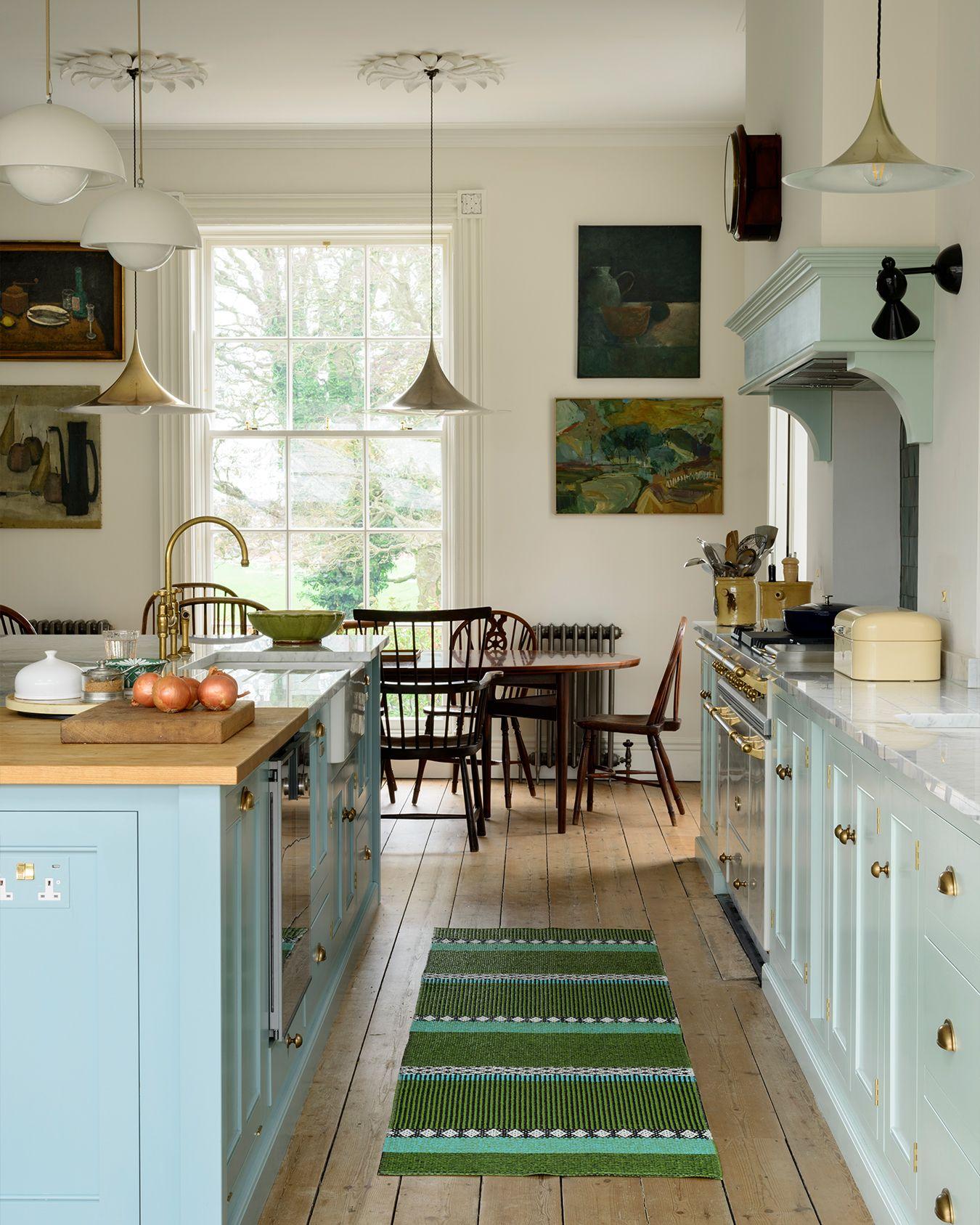 46 Fabulous Country Kitchen Designs Ideas: Classic Georgian Style English