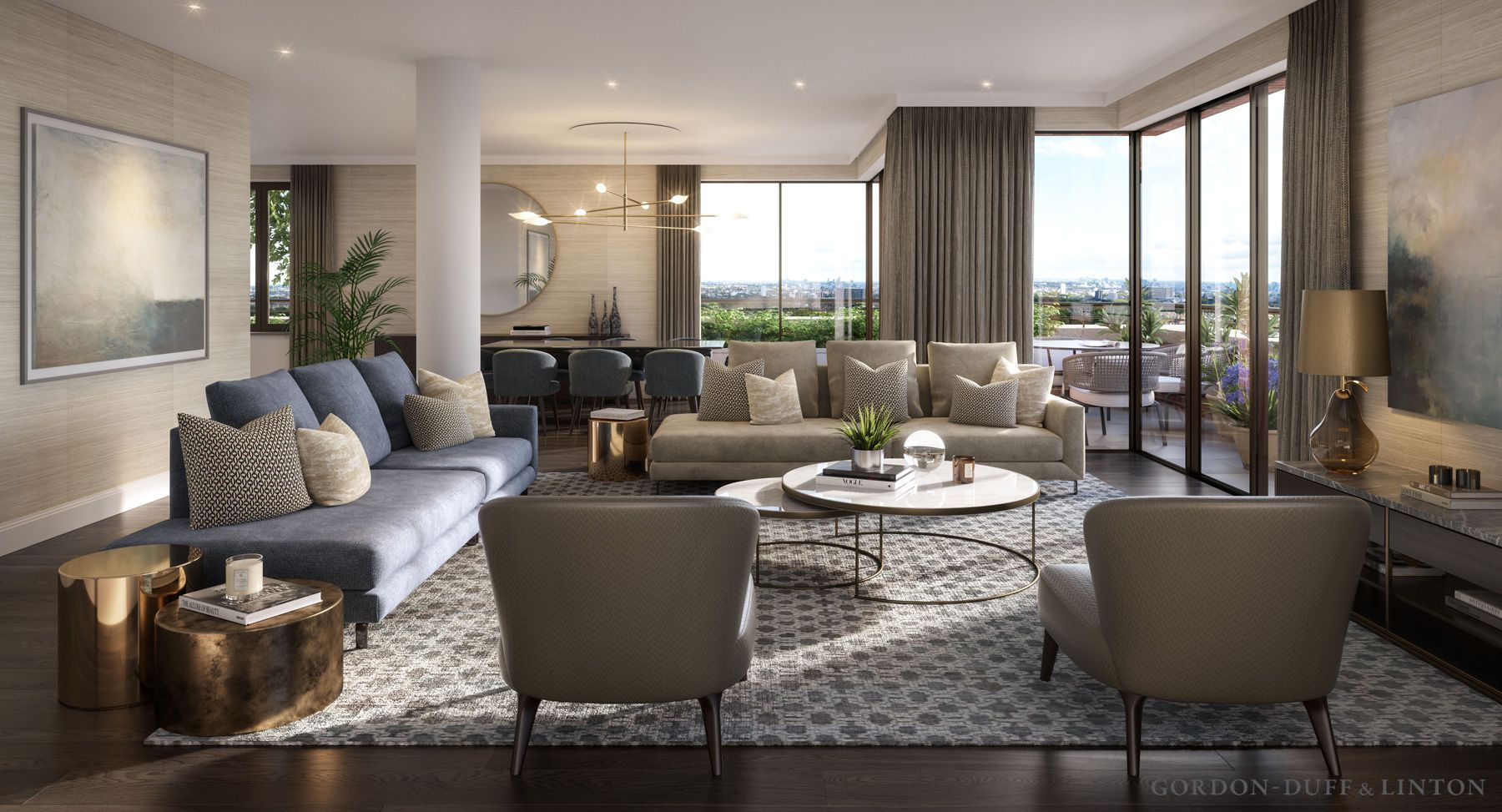 New End Gordon Duff & Linton One bedroom apartment, 1