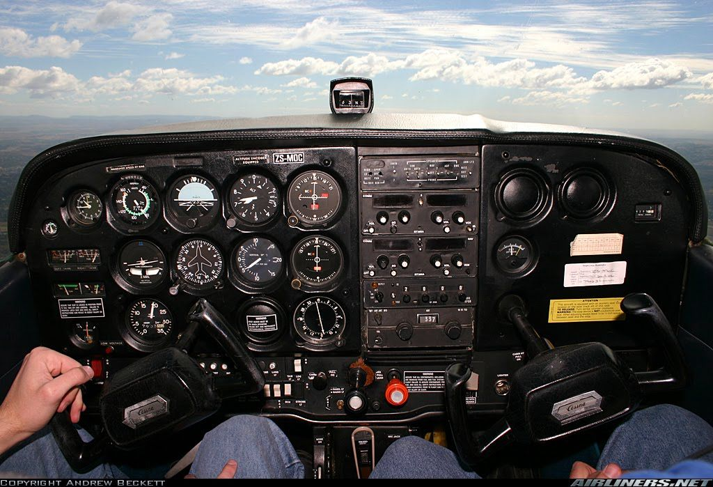 Cessna 172 cockpit … | Exam 2 Idea Board | Cessn…