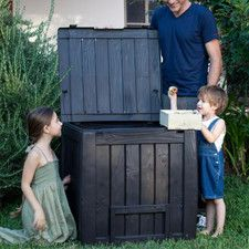 Wood Look Composter