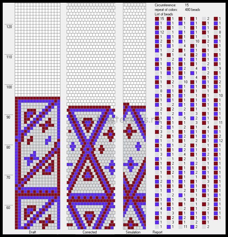 15 Around Tubular Bead Crochet Rope Pattern Free Bead Crochet