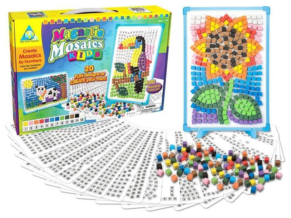 Mozaika Magnetyczna Kids Orb Factory Warszawa 3086910017 Oficjalne Archiwum Allegro Art Kits For Kids Kids Art Supplies Mosaics For Kids