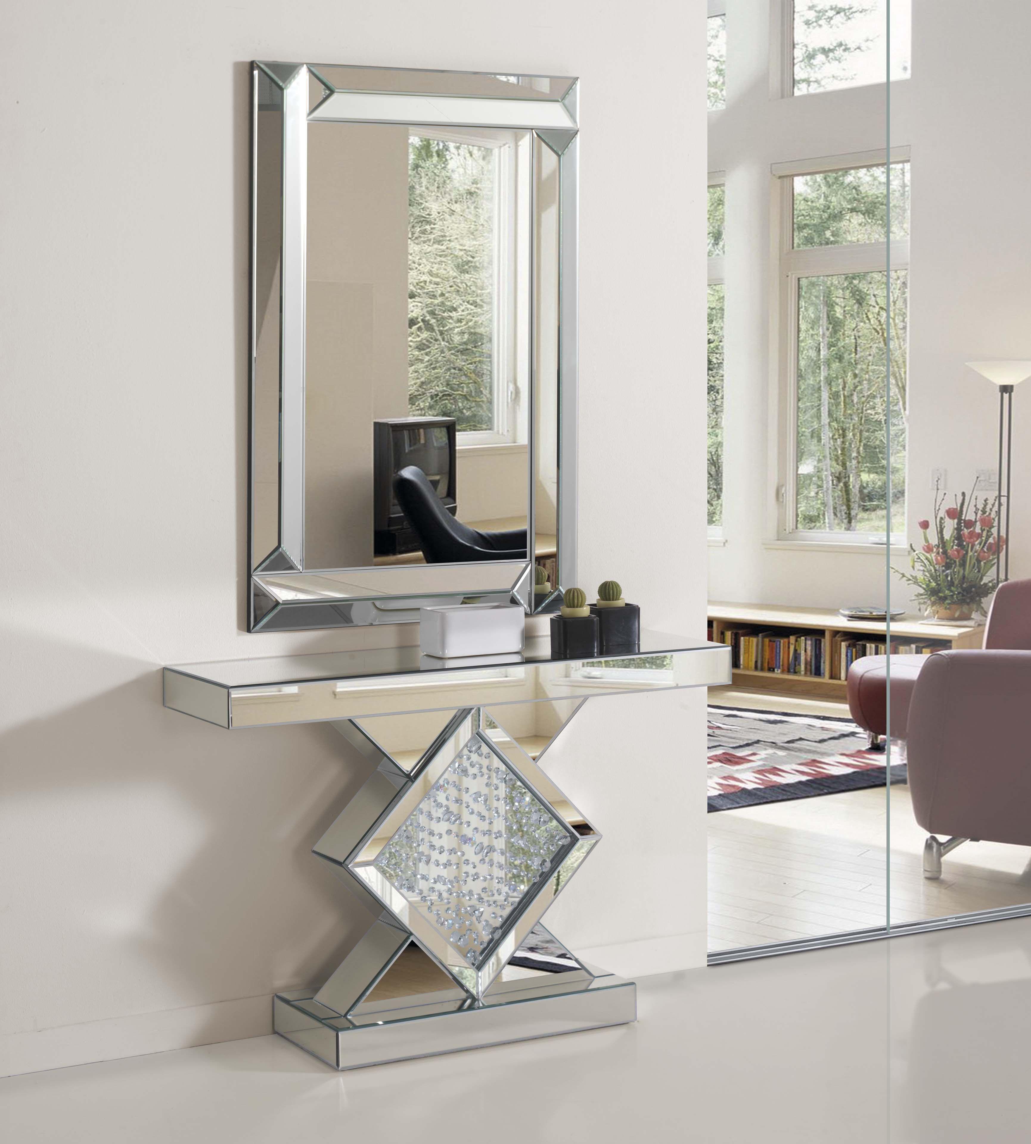 Resultado de imagen para fotos de mesas para recibidor - Espejos recibidor ikea ...