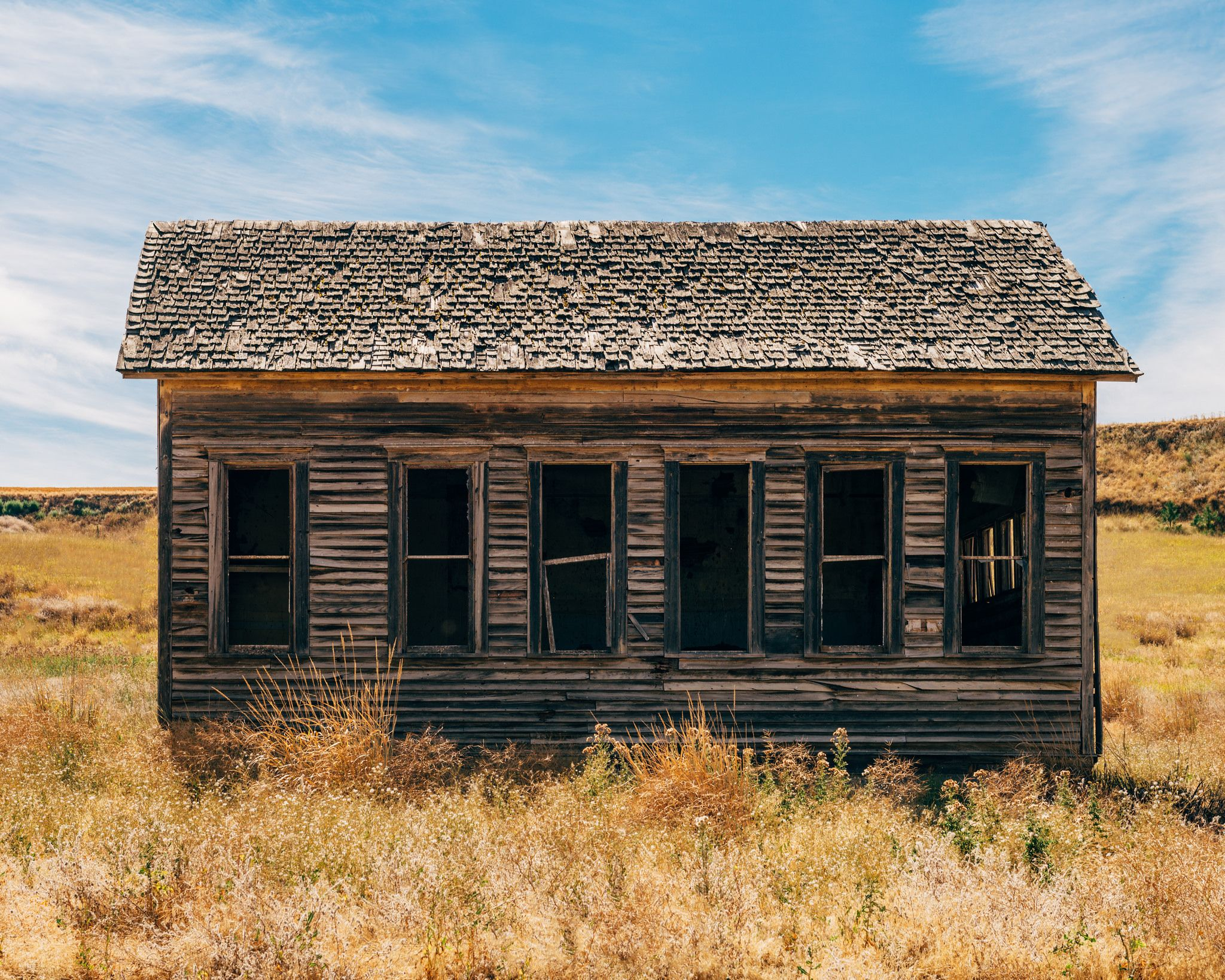 https://flic.kr/p/KMJDNa | Here In After | Abandoned School House - Lamont…