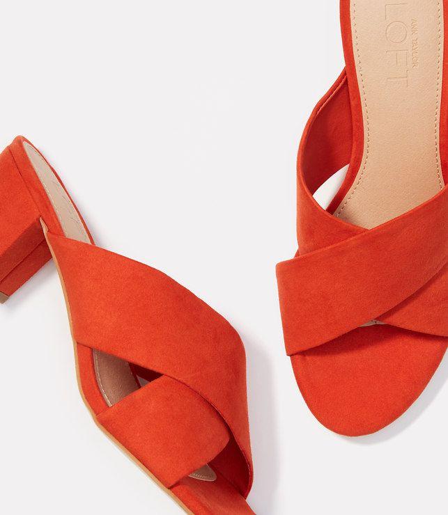 Primary Image of Criss Cross Block Heels