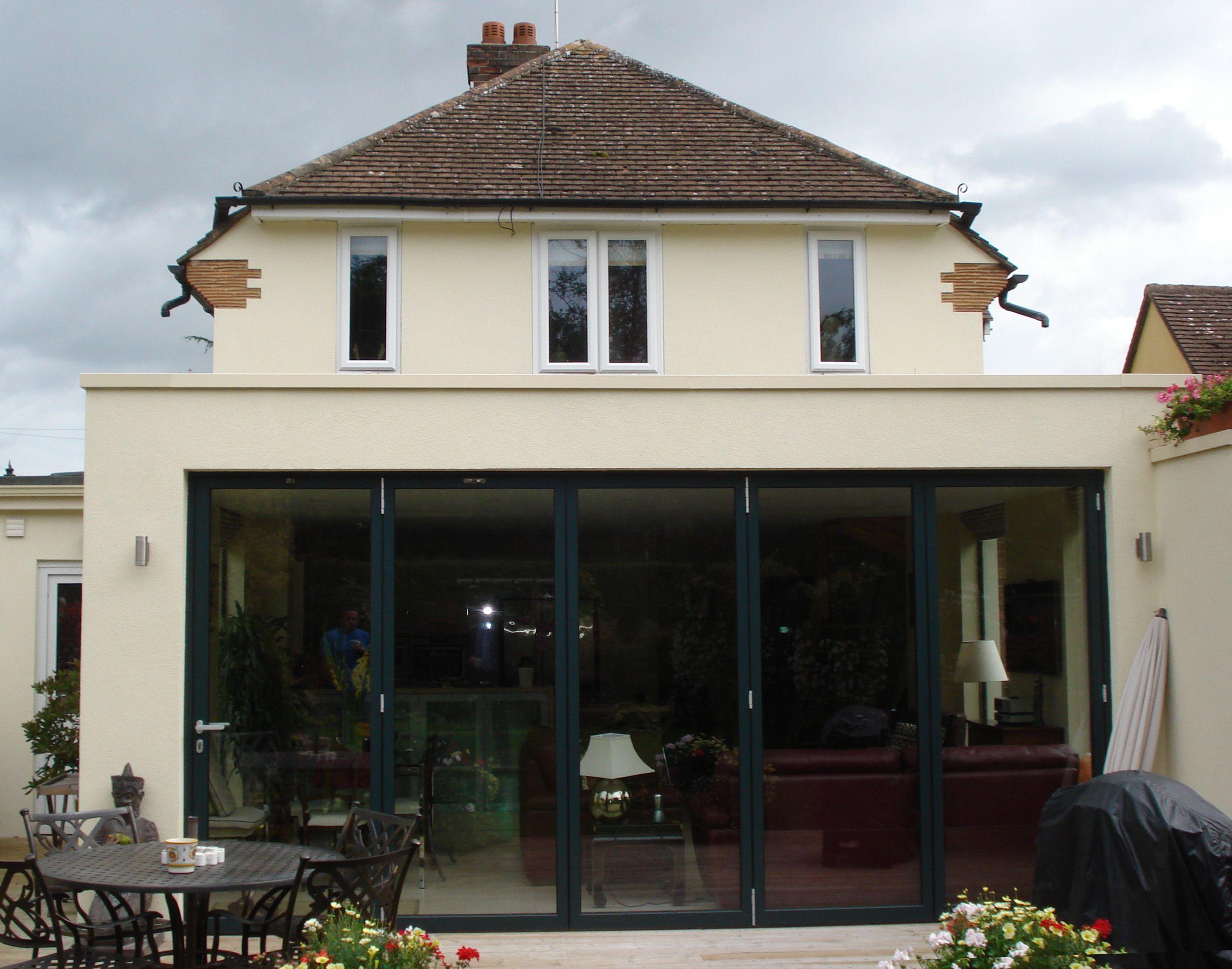 parapet roof design - Google Search | House extensions | Pinterest ...