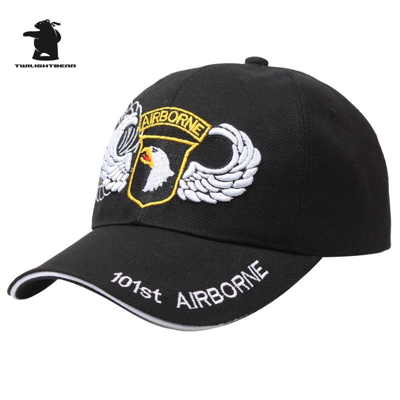 cca8f6e7b36ce Wholesale US 101st Airborne Division Baseball Caps Lovers Cap Tactical Cap  High Quality Embroidery Hat D25B1