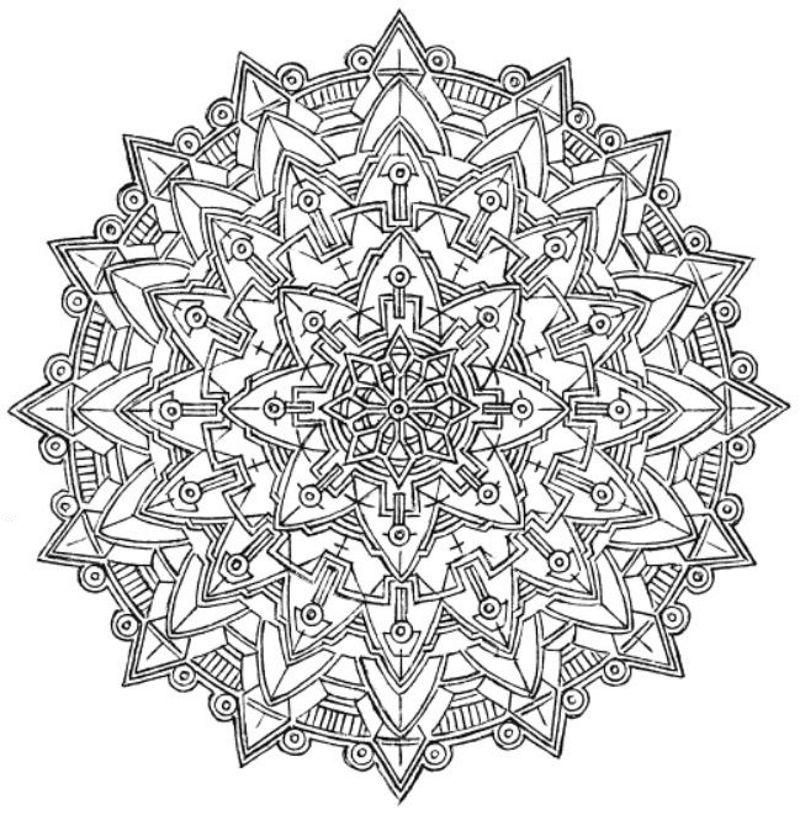 Mandala 706 Creative Haven Kaleidoscope Designs Coloring Book Dover Publications Abstract Coloring Pages Mandala Coloring Pages Designs Coloring Books