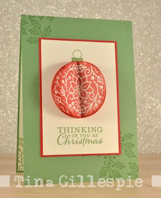 Stampin Up 2016 Christmas Card