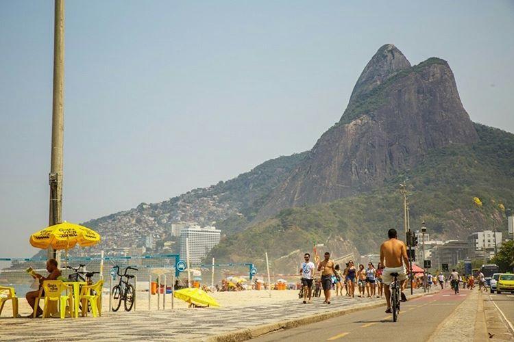 """""""A previsão para o feriado é de sol! #RioDesignLeblon #sol #feriado #AmoLeblon"""""""