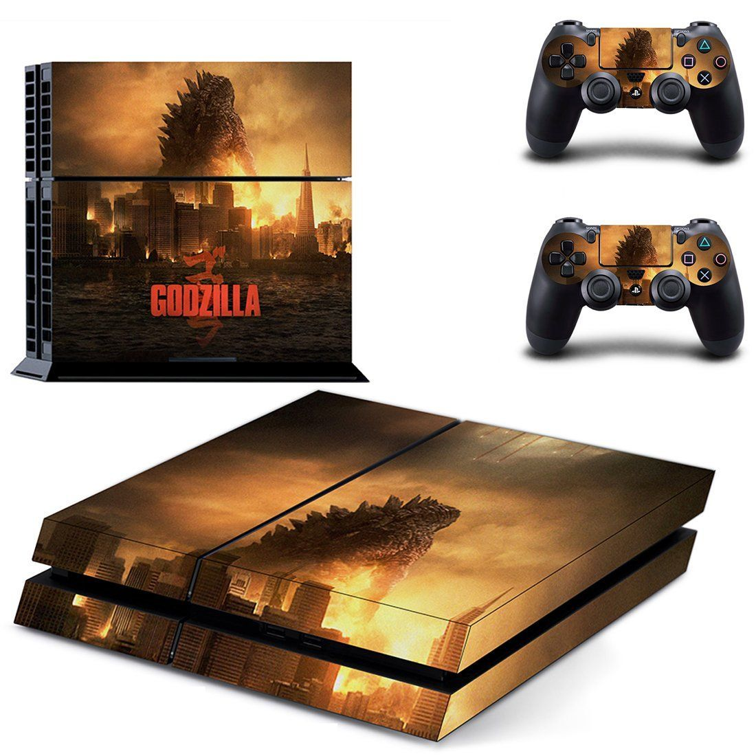 Godzilla ps4 skin for console and controllers Ps4 skins