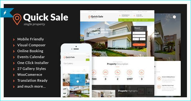21 Real Estate Responsive WordPress and Website Templates | Real ...