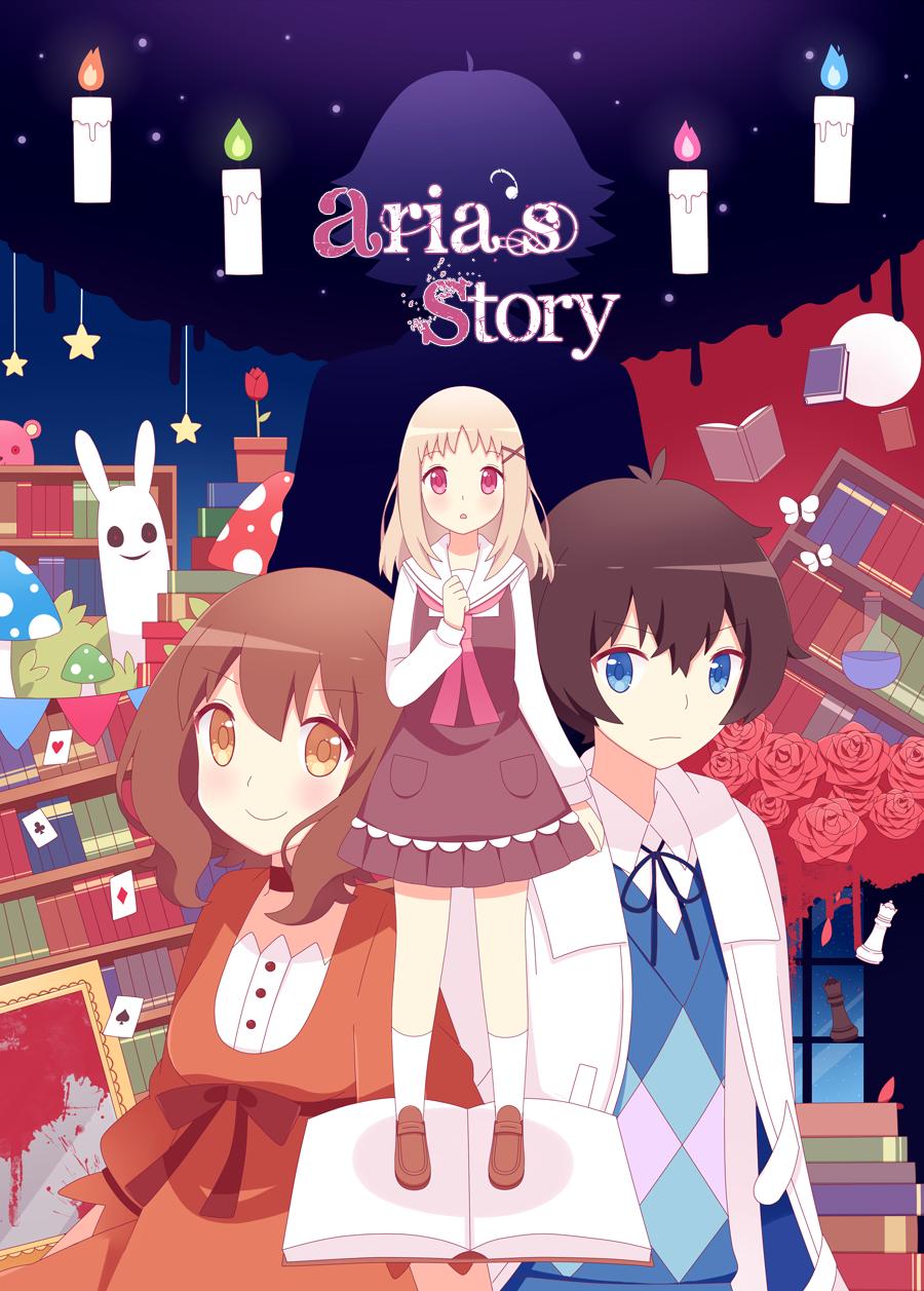 Aria S Story Fanart Rpg Horror Games Game Character Rpg Maker