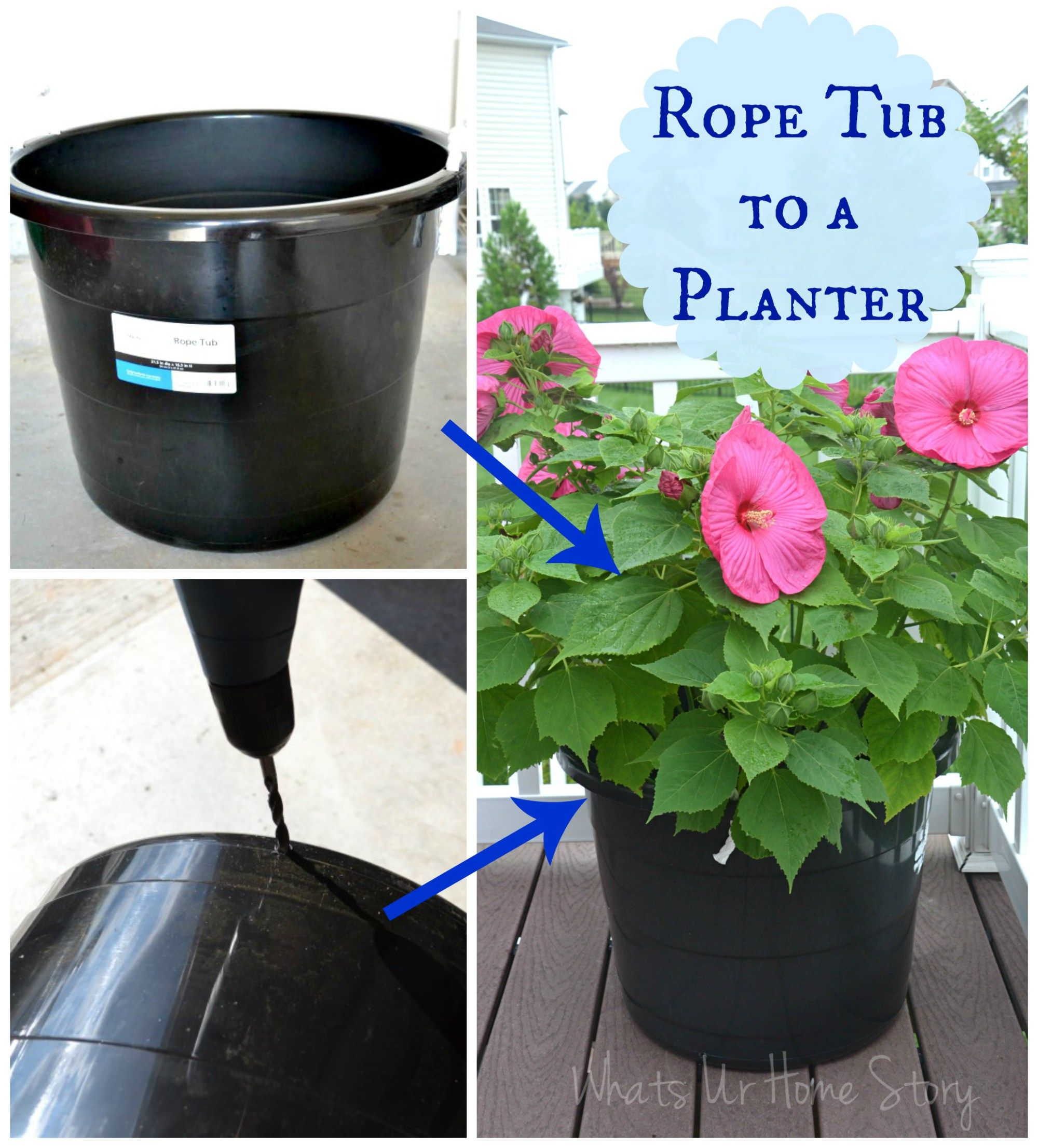 The Cheapest Way To Diy Large Plant Pots Whats Ur Home Story Plant Pot Diy Cheap Plant Pots Large Plant Pots