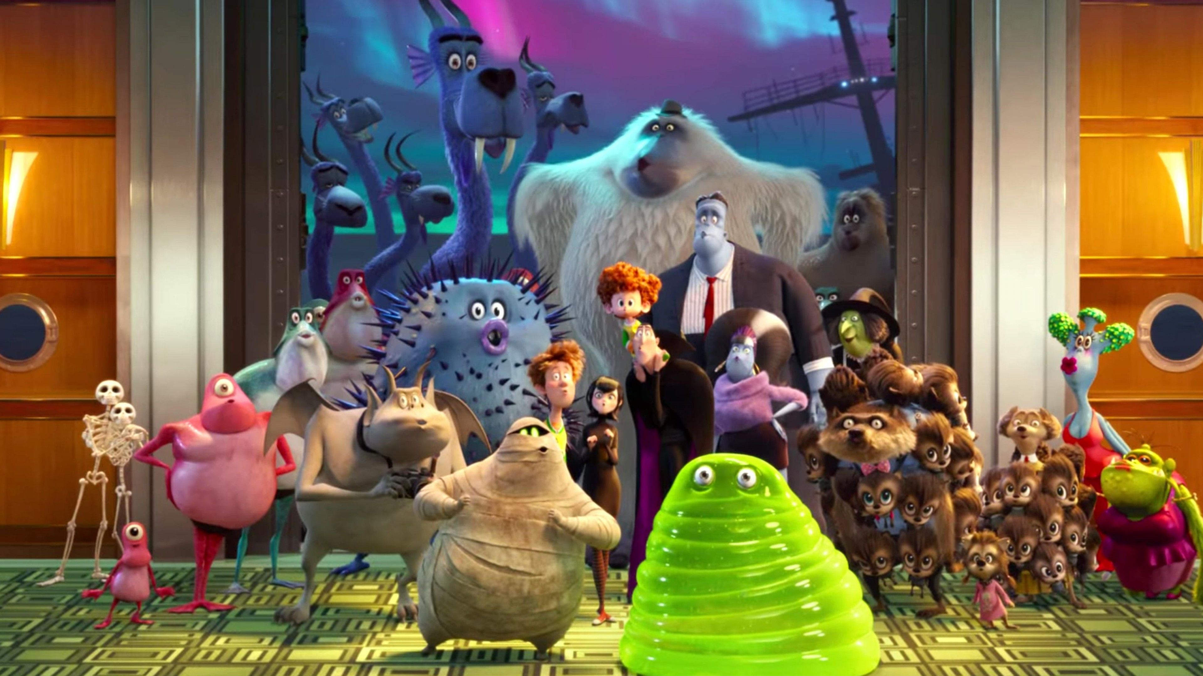 Wallpaper Hotel Transylvania 3 Summer Vacation 4k With Images