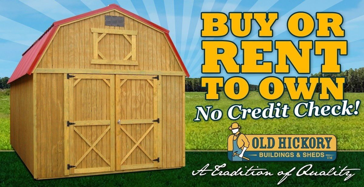 Old hickory buildings sheds official site kill the for Barn home builders near me