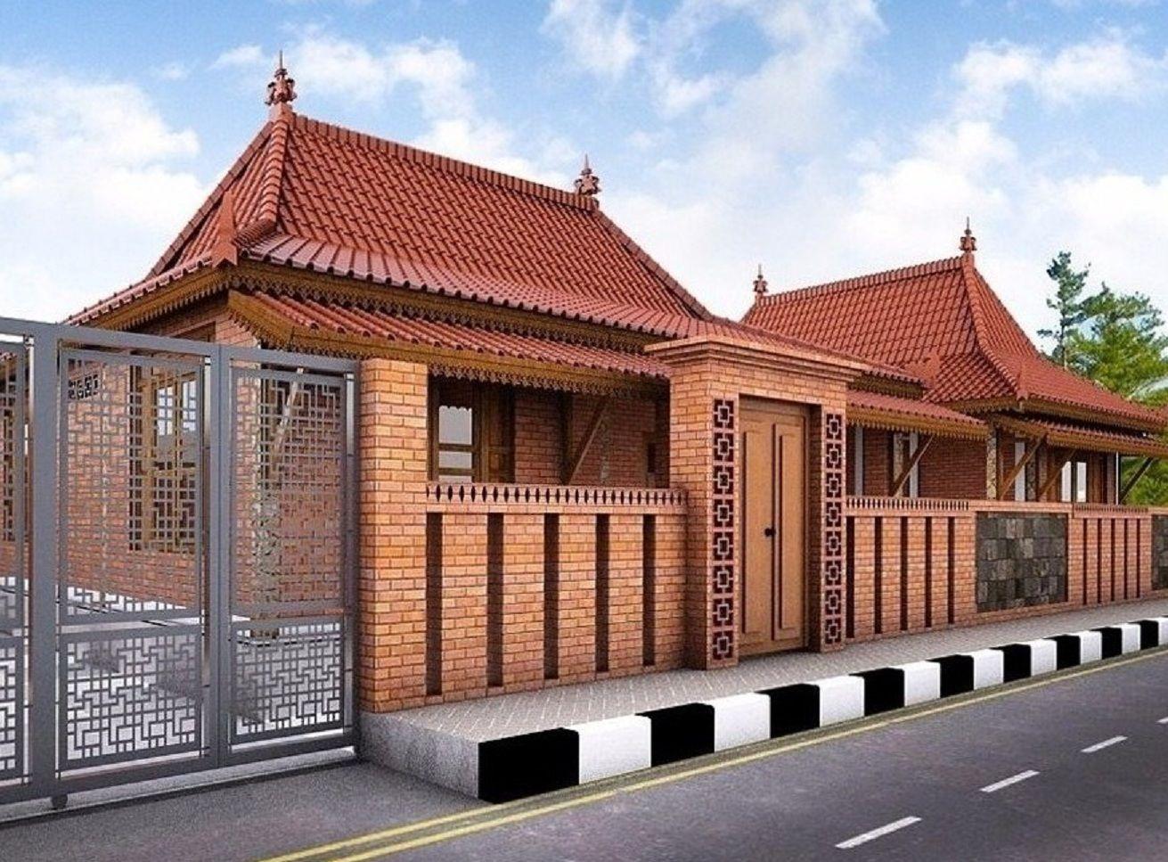 Contoh Desain Rumah Limasan 5 Kamar Tidur Desain Rumah Limasan