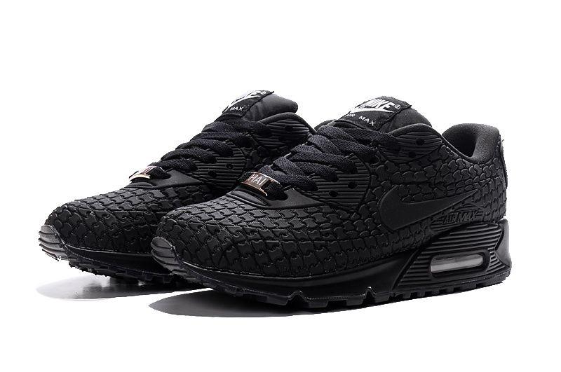 Womens Nike Air Max Urban Goddess all black shoes