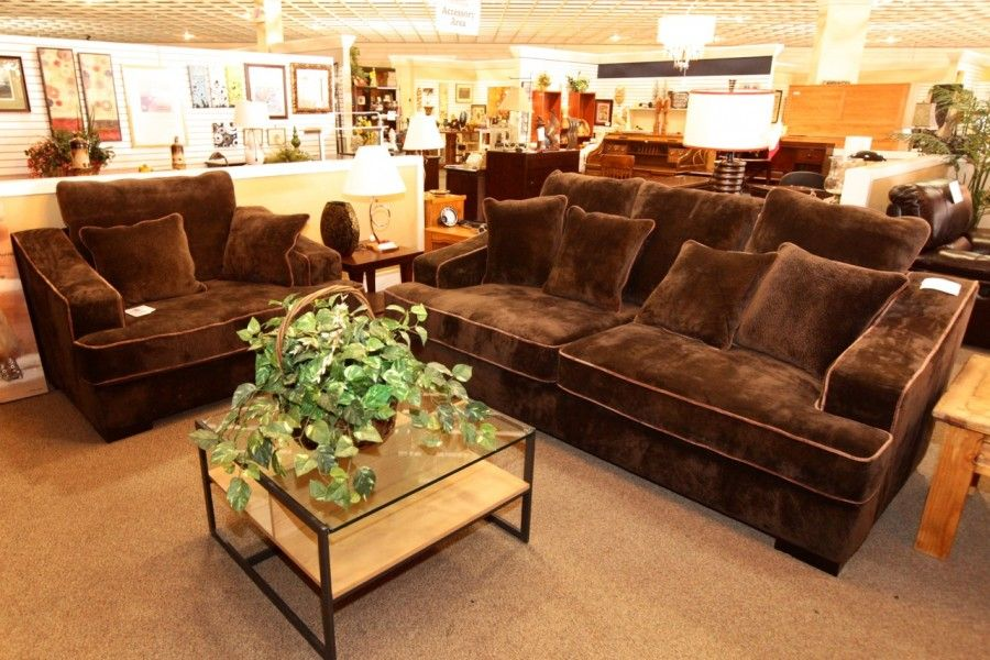Chocolate Brown Sofa Love Colleen S Classic Consignment Las