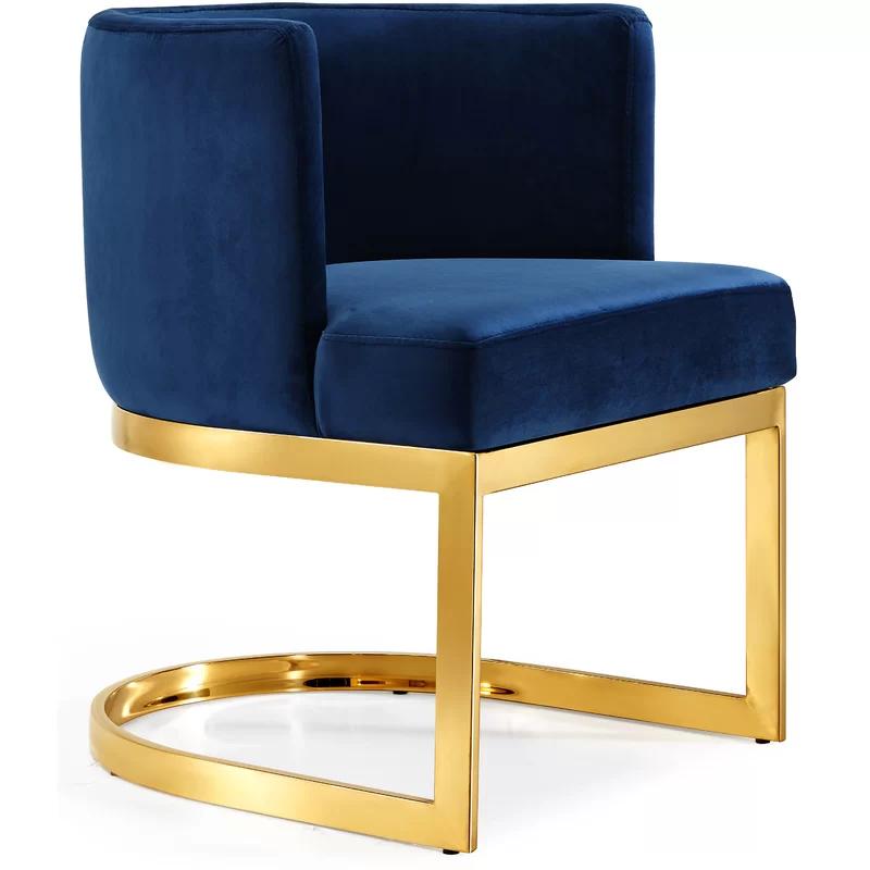 Mercer41 Hobson Upholstered Dining Chair Reviews Wayfair Ca Dining Chair Upholstery Upholstered Dining Chairs Velvet Dining Chairs