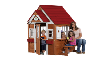 Cedar Chateau Playhouse A play house will give your kids a ...