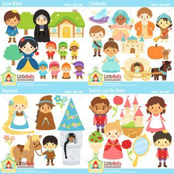 Fairy Tale Clipart Bundle 3 Clip Art Fairy Tales Art