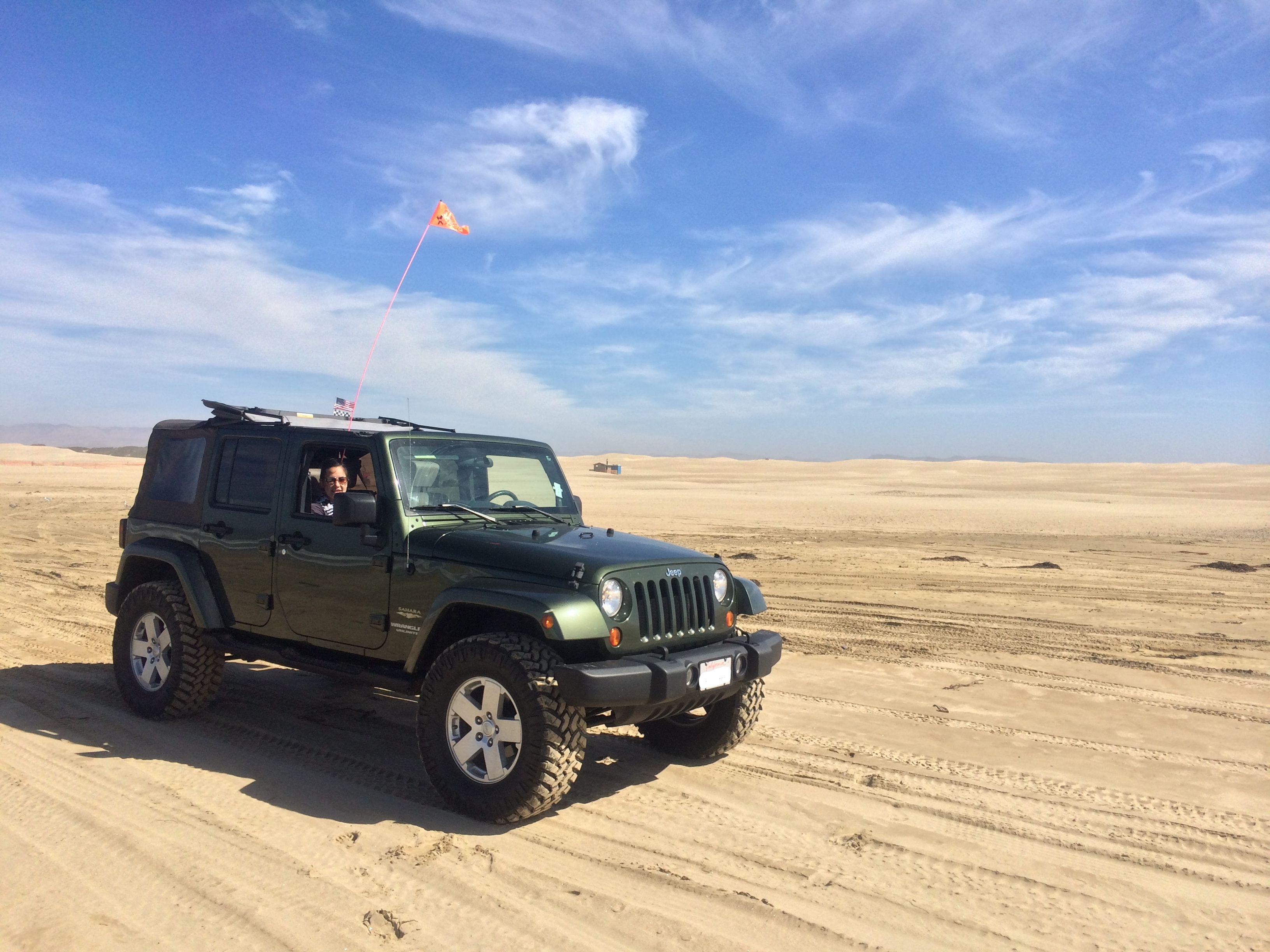 Pismo Beach Ca Jeep Wrangler Unlimited Sahara 35 Nitto Trail Grlers