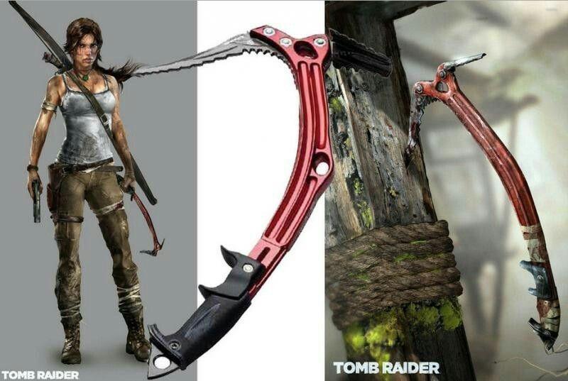 Lara Croft Ice Axe