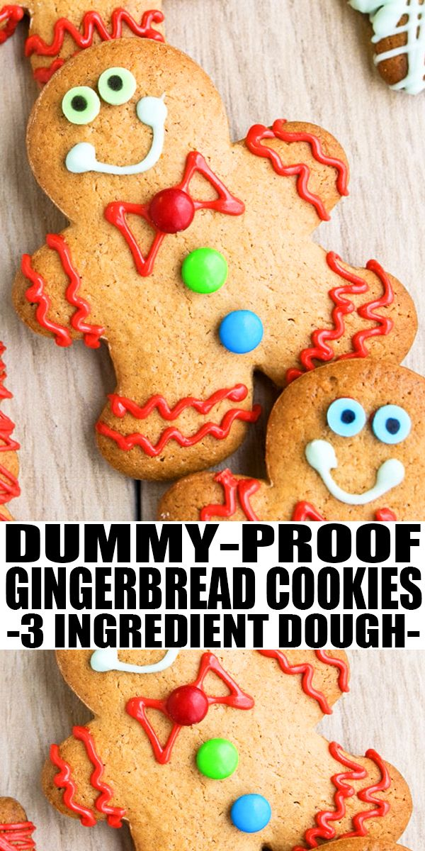 Easy Gingerbread Cookies (With Cake Mix)