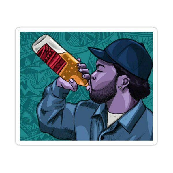 Ice Cube Hip-hop Design Sticker by TrendzUniversal