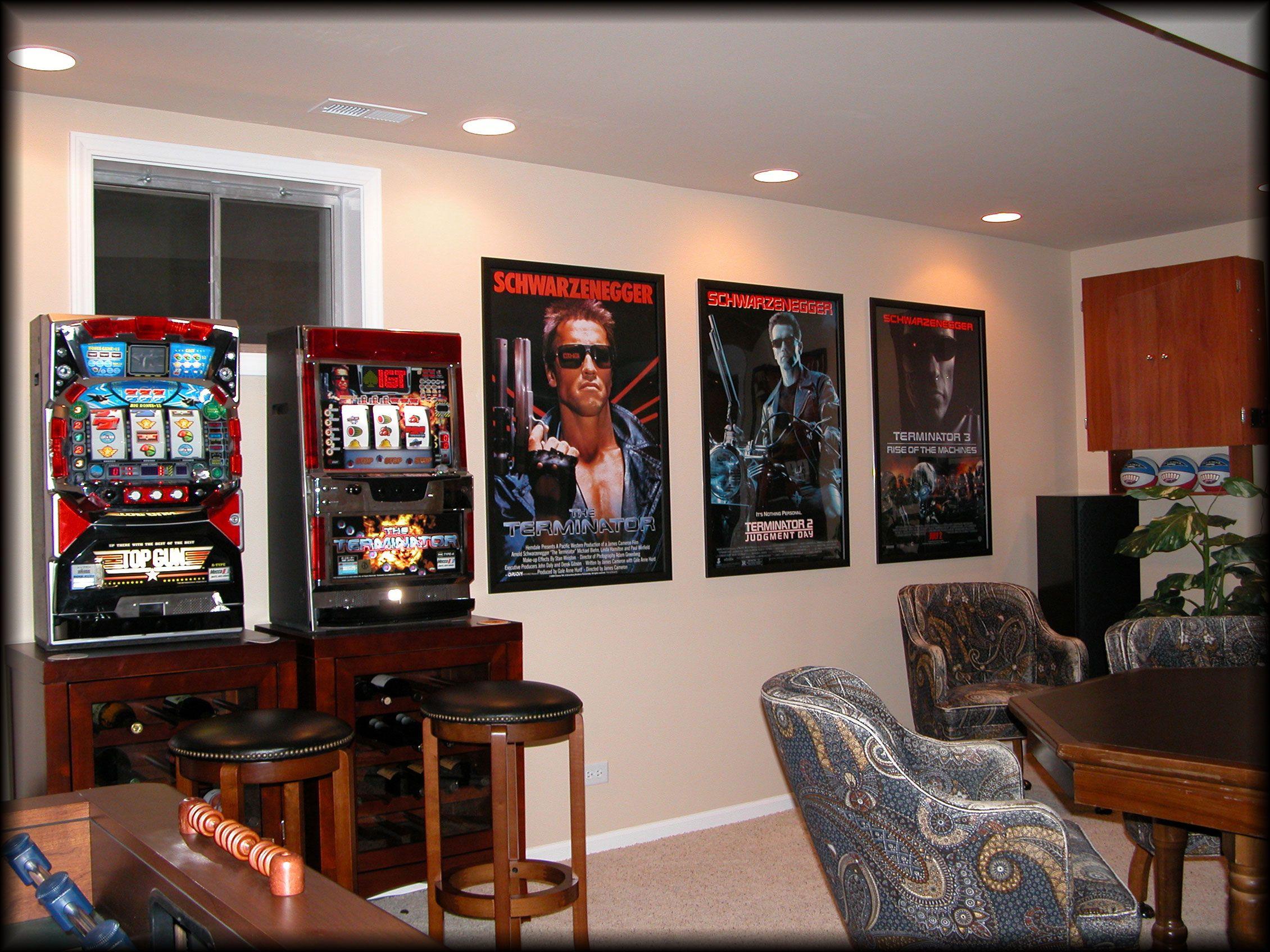 Gameroom Movie Posters Decor Media Room Design Media Room