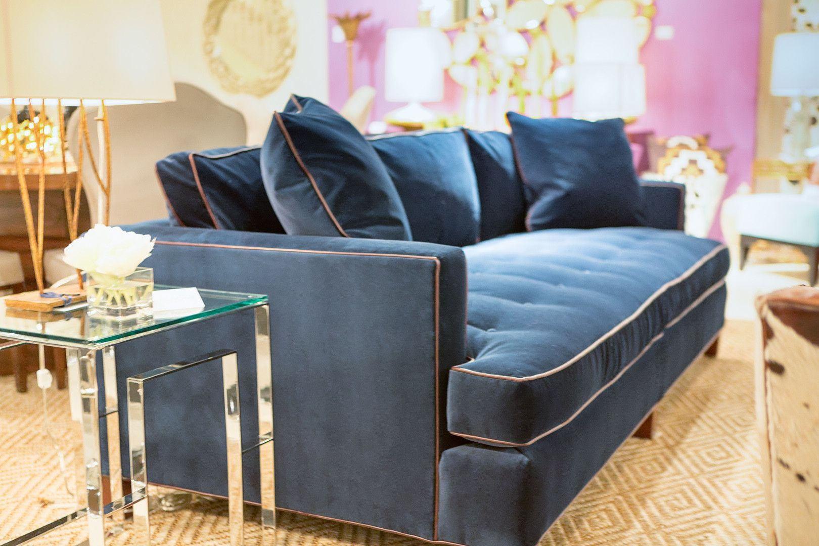Luxe home decor furniture
