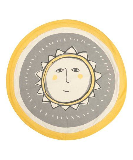 Primitives by Kathy Gray & Yellow Sun Round Security Blanket | Zulily #securityblankets