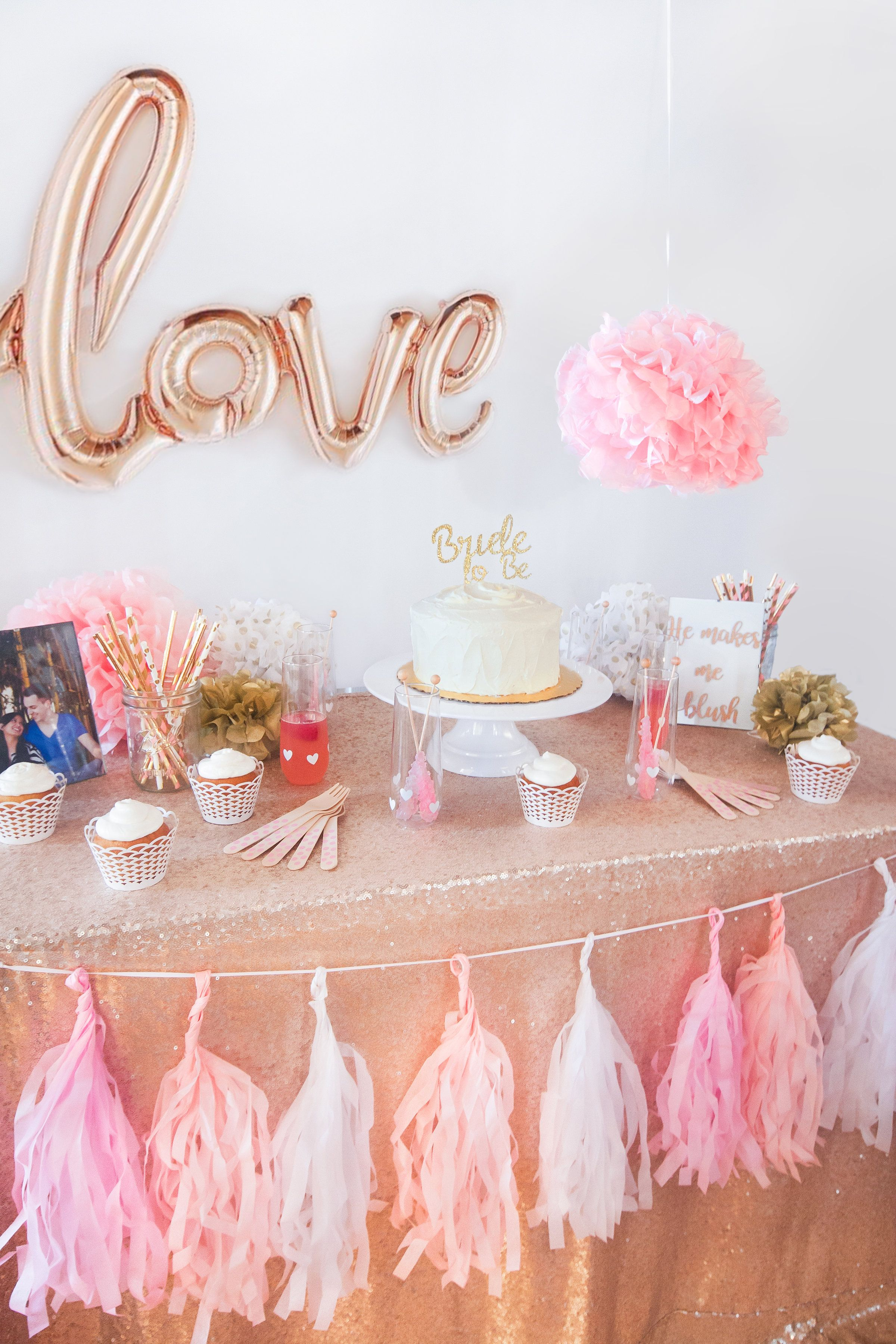 the making me blush bridal shower kit was created with the girliest of girly girls in