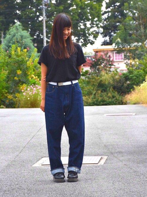 にむぽにさんの「USAコットンポケットTシャツ【niko and...】(niko and...)」を使ったコーディネート