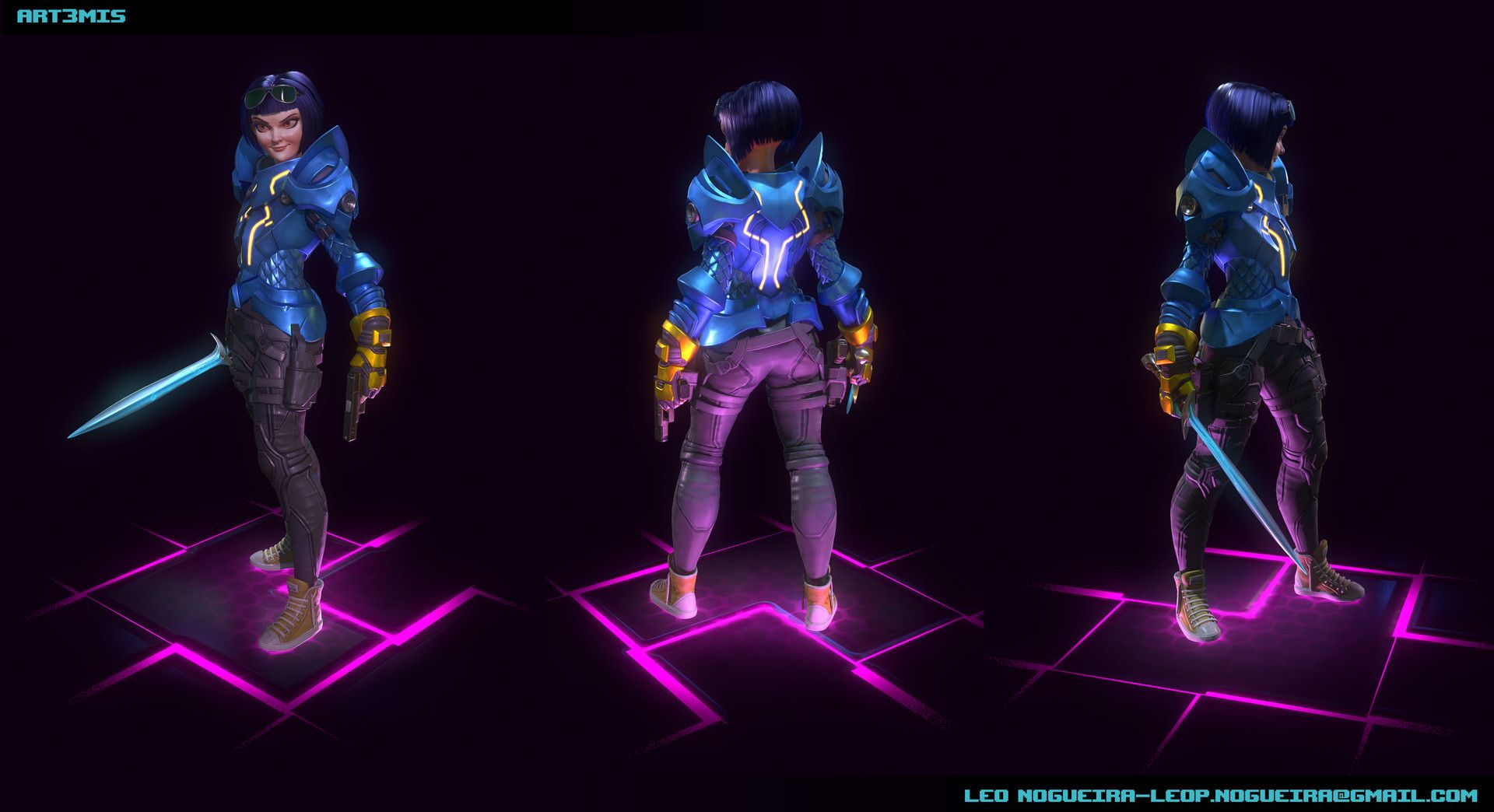 Art3mis Leonardo P Nogueira Art3mis Ready Player One Leonardo