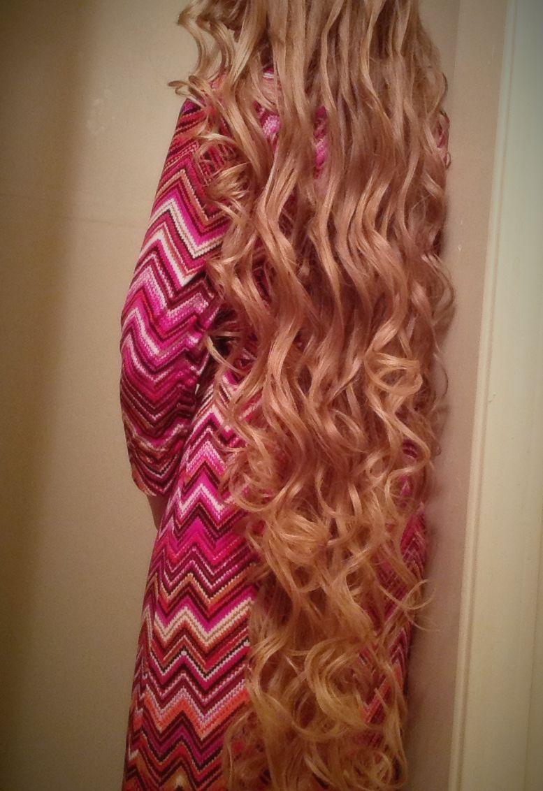 No heat pin curls Curly hair tutorial, Easy hair dos