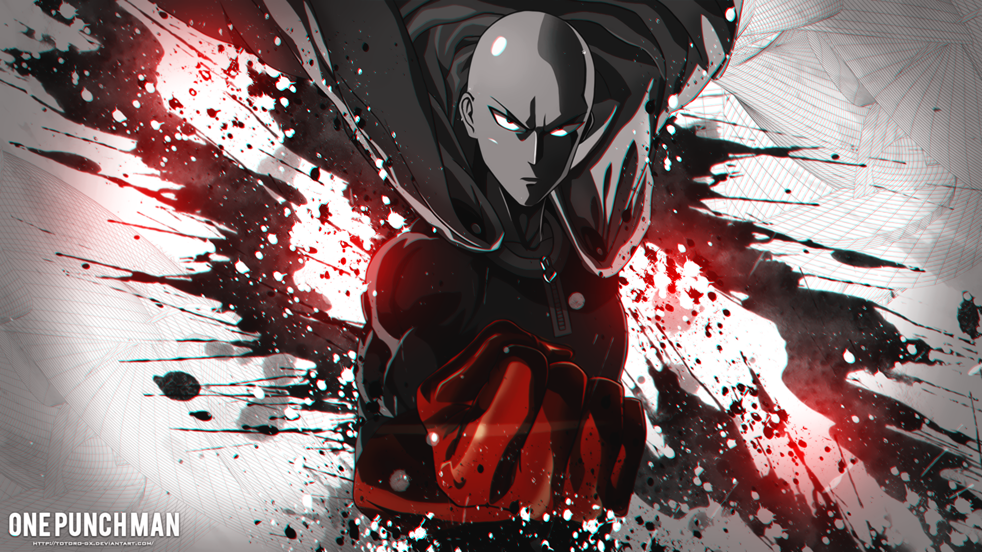 Anime One Punch Man Saitama One Punch Man Wallpaper Saitama