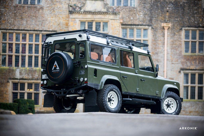 Custom Land Rover Defender For Sale Camelot Restoration By Arkonik Land Rover Land Rover Defender Land Rover Defender Custom