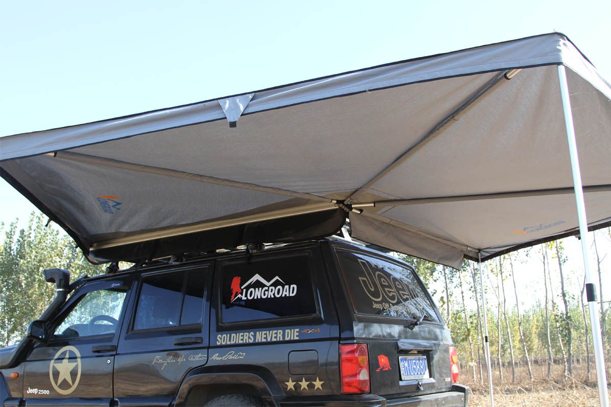 Lr Fox Wing Awning Longroad Campers Co Limited Car Awnings Car Tent Roof Tent