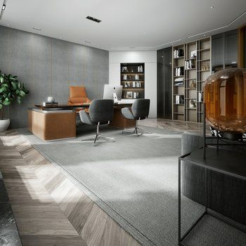 Office interior click to get the complete design ideas ds max models download files also rh pinterest