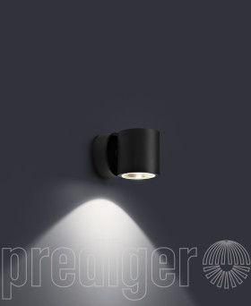 P 026 Einseitig Strahlende Led Aussen Wandleuchten R Prediger Base Prediger Fassadenbeleuchtung Wandbeleuchtung Aussenwand