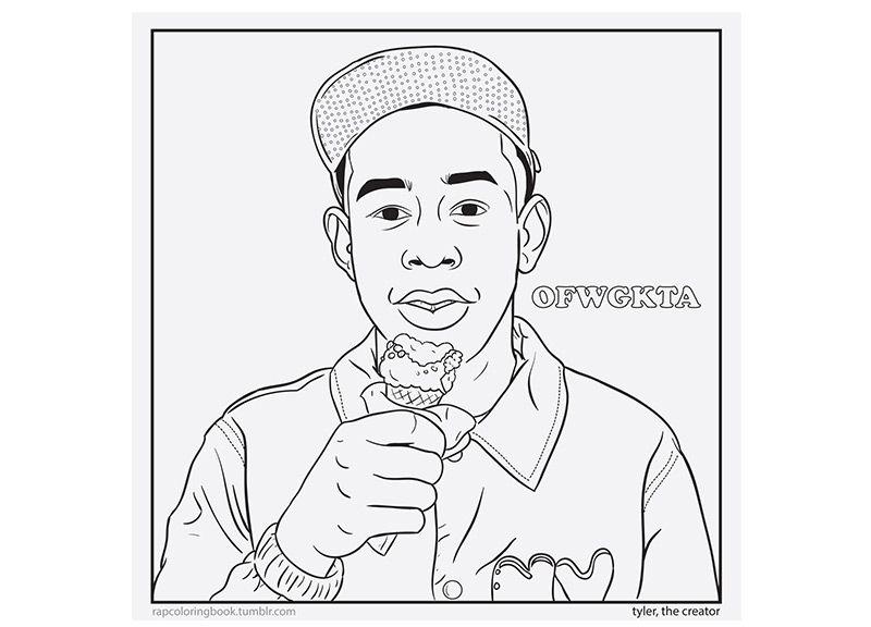 Rappers Drawing Karikaturen Lebenslauf