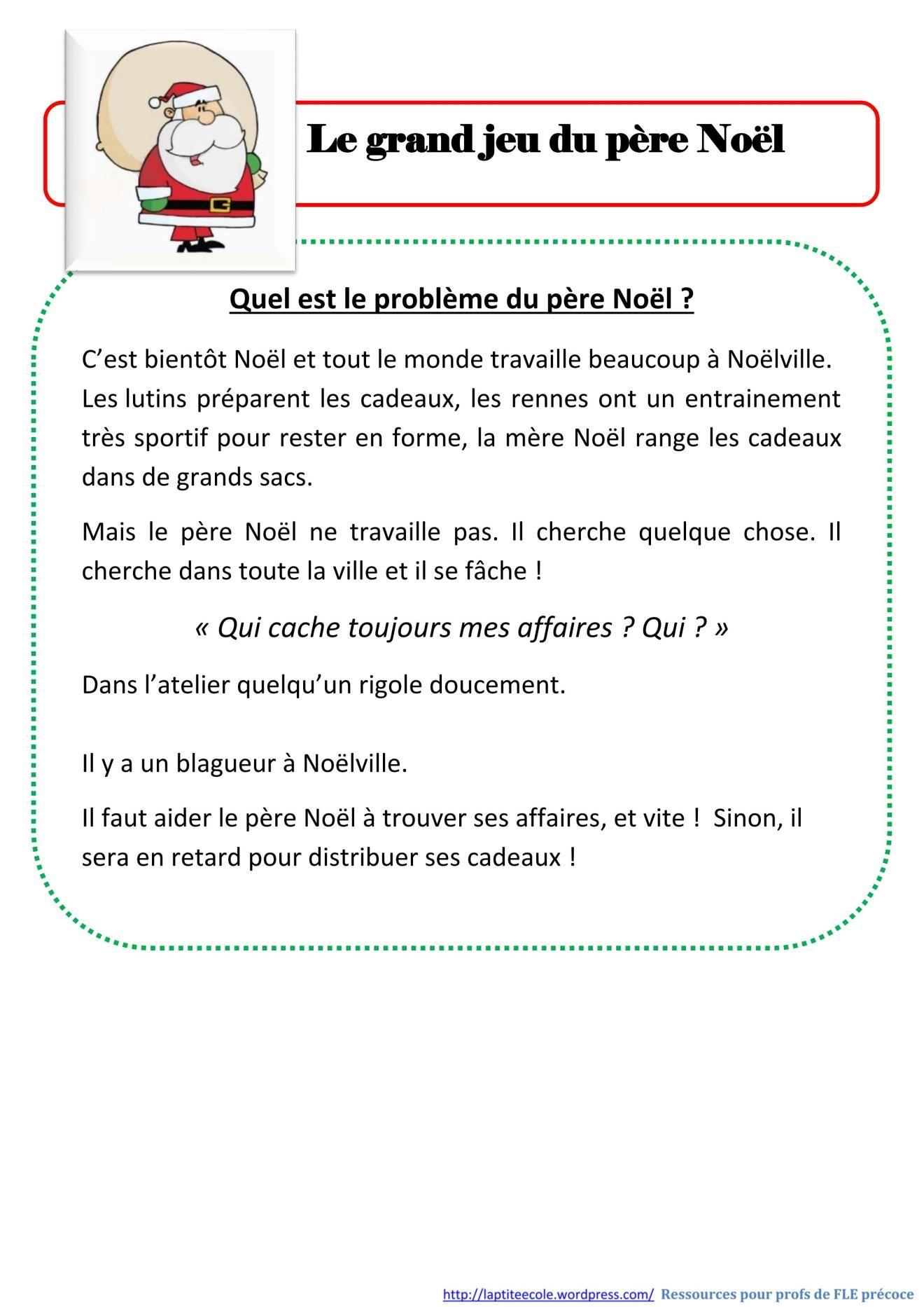Le Cluedo De Noel La Ptite Ecole Du Fle Le Cluedo De Noel Devinette De Noel Jeux Noel Activite Noel Maternelle