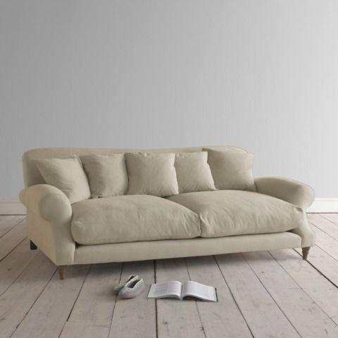 Crumpet Sofa In 2019 Furnitures Linen Couch Linen