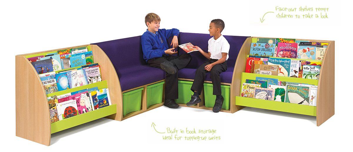 BookSpace Storage Seats. Display For Picturebooks. Classroom Storage  Solutions. Reading Corner Seating. Classroom Reading Spaces, Inspiration,  Furniture, ...